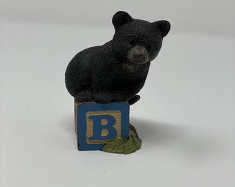 "Tom Clark / Tim Wolfe Alphabet Letter Block ""B"" Bear"