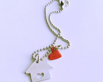 Home is where your heart is/casetta and heart customizable