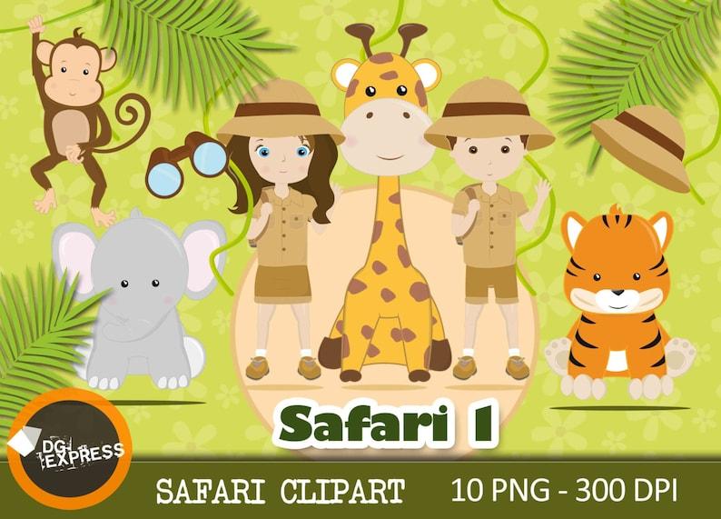 Jungle Clipart : SAFARI Clipart  Safari Clipart image 0