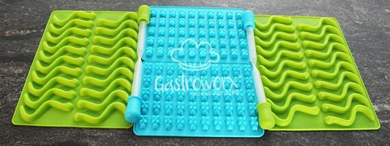 Canadian Tire Mastercard >> Gummy Bear and Worm Silicone Mold Bundle 4 trays and 4 Bonus   Etsy