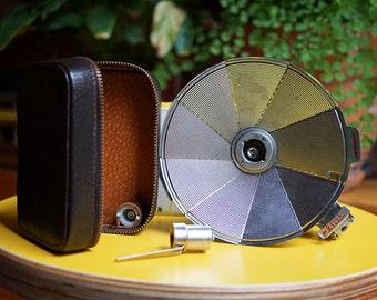 Complete Vintage Ricoh Flash Unit BC-605 - Original Case and Box