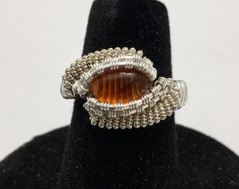 Amber Ring size: 6.5