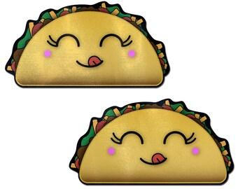 a7259c9f55c14 Pasties - Taco  Happy Kawaii Lady Taco Nipple Pasties by Pastease® o s