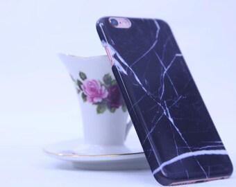 Black Lightning iPhone6/ iPhone 7 Case (Hard)