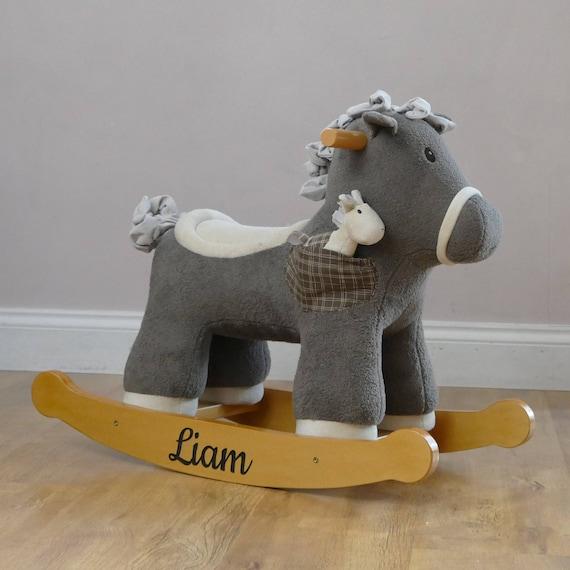Childrens Rocking Horse First Birthday Gifts Baby Boy Gift