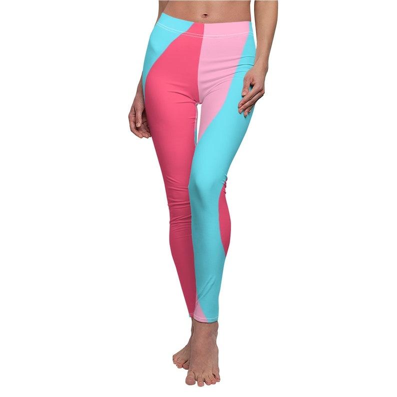 Disney Bubble Gum Wall Women/'s Cut /& Sew Casual Leggings