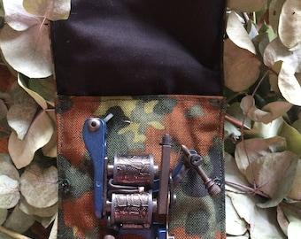 Camouflage voyage pochette à la Machine de tatouage