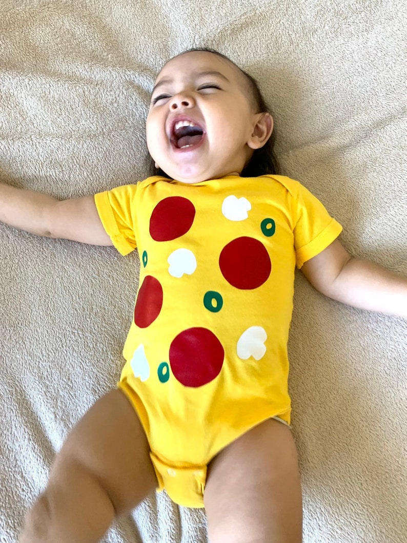 bba733d88 Pizza Baby Outfit Food Baby Costume Pizza Baby Bodysuit | Etsy