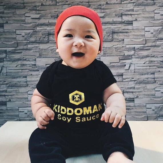 Funny Food Baby Costume Soy Sauce Baby bodysuit with Hat