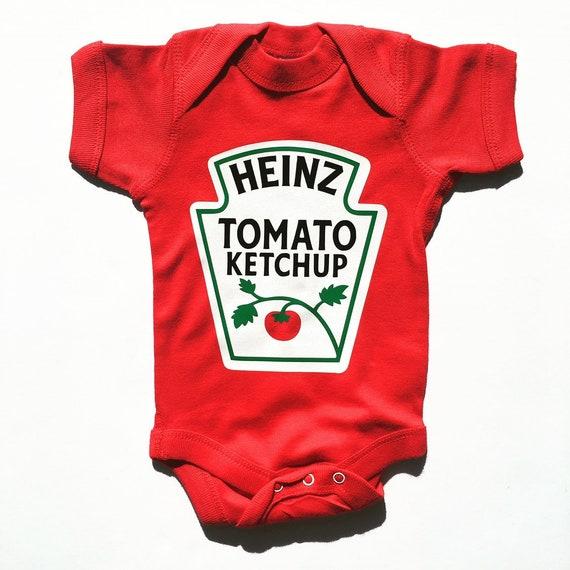 Ketchup Baby Onesie