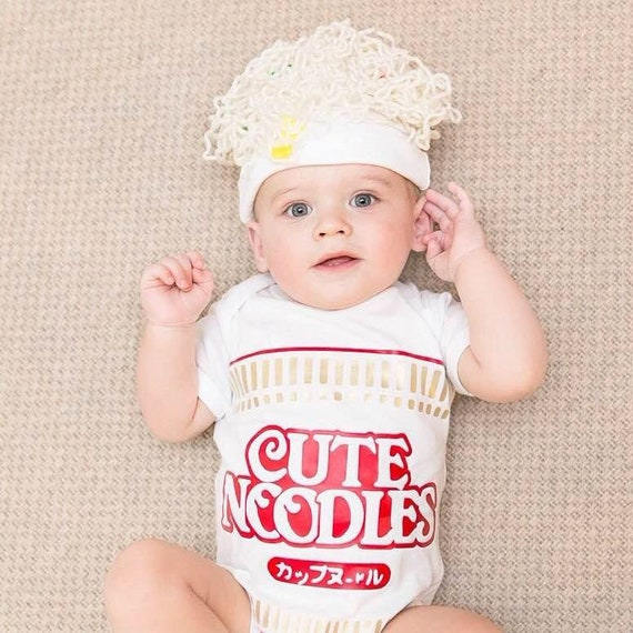 Baby Ramen Noodle Halloween Food Costume
