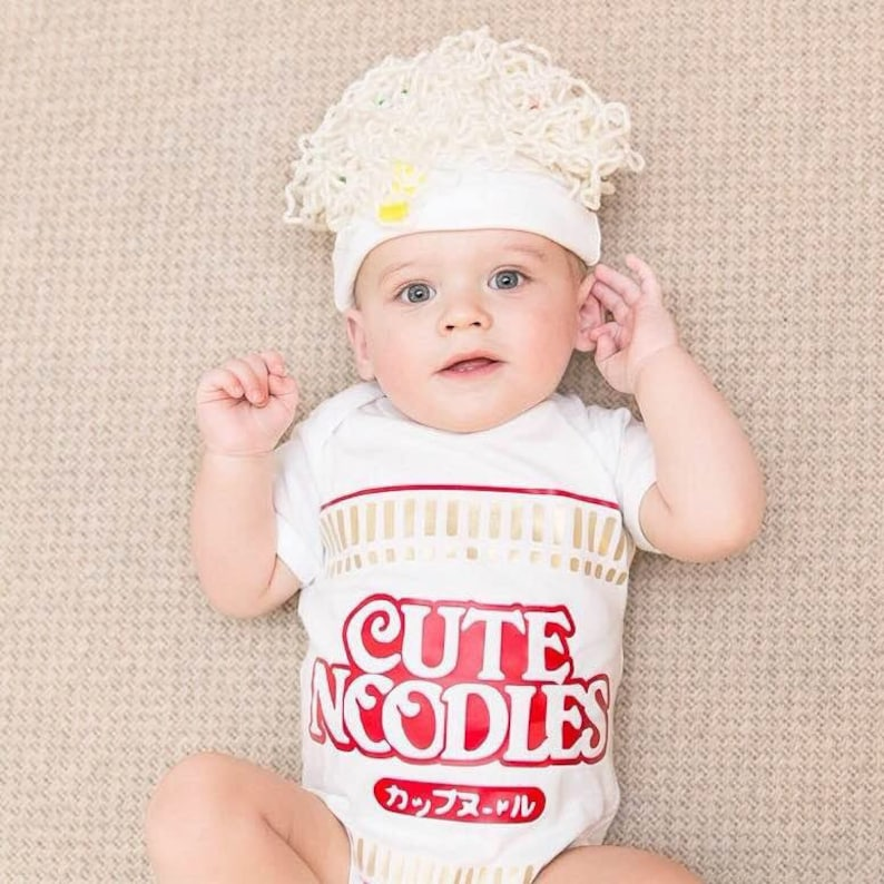 09e6cb80a Ramen Baby Outfit Premium Quality Please order by Tuesday | Etsy