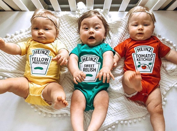 First Halloween Baby Costume Newborn Costume Ketchup Baby