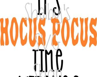 It's Hocus Pocus Time Witches