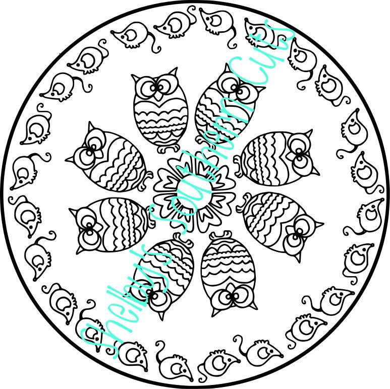 owl mouse mandala svg etsy CJ 7 Jeeps in TX 50
