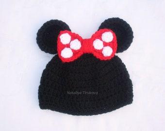 Gehäkelte Minnie Maus Outfithäkeln Minnie Mouse Satzhäkeln Etsy
