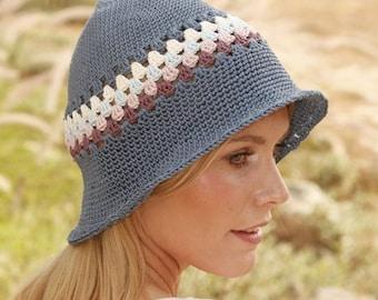 7c82f32193e Crochet Women s Sun Hat Dune hat Hat with Brim Summer Beach Hat Cotton  Beach Hat Shell Stitch Hat Women s Beach Hat Summer Hat Gift for her