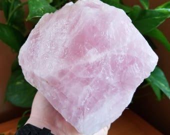 Rose Quartz over 5 lb, Rose Quartz Stone, Rose Quartz crystal, rose quartz rough, Energy Peace Shop, large Rose Quartz