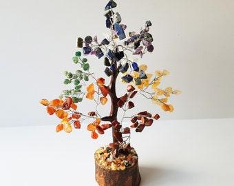 Chakra Gemstone Tree - Tree of Life - Chakra Stones - Chakra Tree - Chakra Crystals