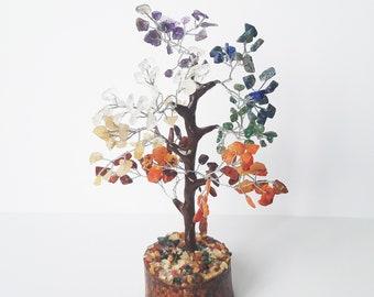 Tree of Life Chakra Stones - Gemstone Chakra Tree