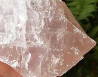 Rose Quartz Crystal, Raw Rose Quartz, Rose Quartz Stone