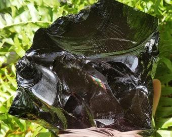 Large Black Obsidian - Raw Obsidian