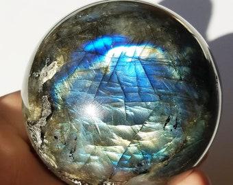 Labradorite Sphere, Labradorite Stone, Labradorite Crystal
