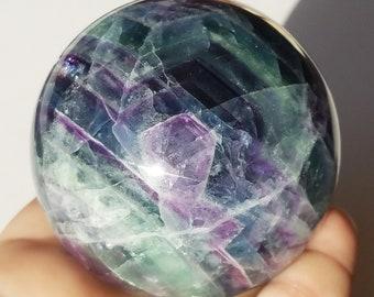 Fluorite crystal, Fluorite Sphere, Rainbow Fluorite