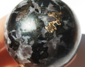 Mystic Merlinite, Merlinite Ball, Indigo Gabbro Crystal
