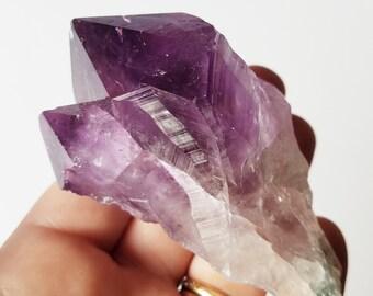 Amethyst Crystal - Amethyst Point - Amethyst Crystal with root
