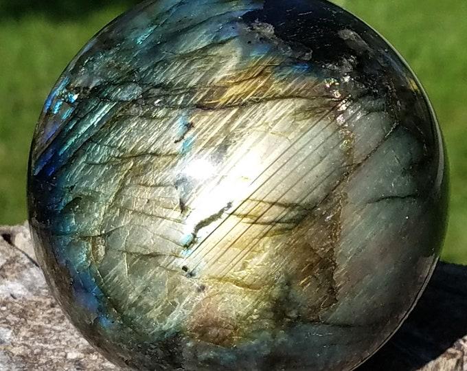 Labradorite Sphere, Labradorite Sphere, Labradorite Crystal