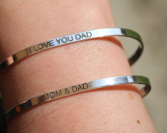MOM & DAD Bracelets