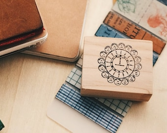 Wood Mounted Rubber Stamp - Baltimore Watch