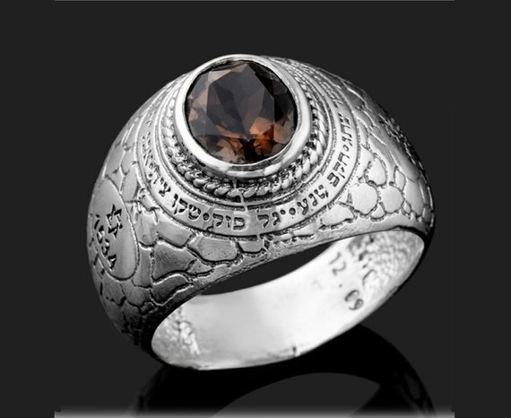 Hebrew Ring Silver Women Ring Protection Ring Kabbalah Jewelry Protection Amulet Jewish Jewelry Jewish Ring Evil Eye Ring Women Ring