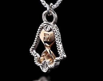 Hamsa Pendant, Protection Necklace, Hamsa Charm, Protection Jewelry, Hand of Fatima, Hamsa Necklace, Evil Eye Necklace, Jewish Jewelry