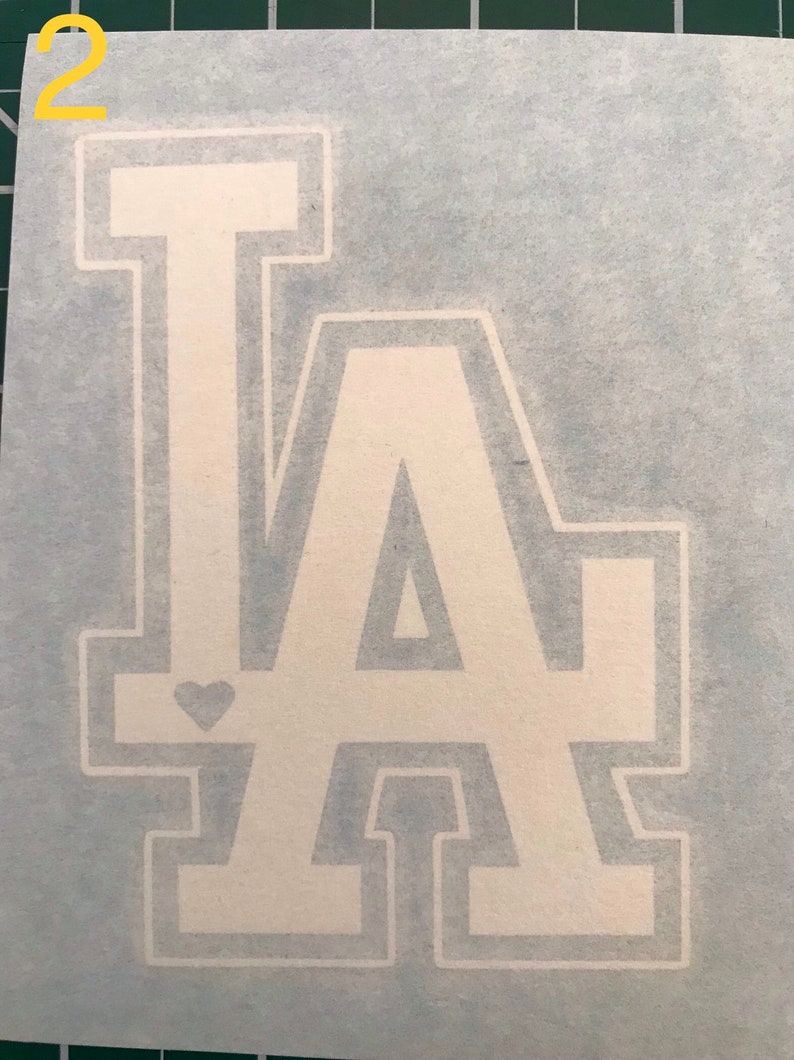 Los angeles dodgers logo sticker - dodgers shirt - clearance sale