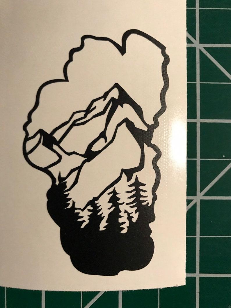 Lake Tahoe nature Lake Tahoe sticker forest