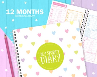 My Sporty Diary (12 months), Exercise planner