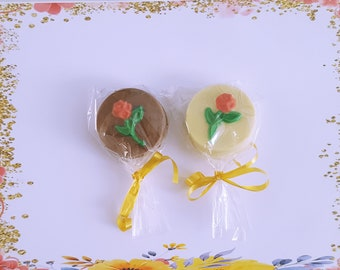 12 Chocolate Covered Oreo,Cookie, Favors, Rose Bud, Belgian Chocolate, Covered Oreo,Rose Flowers