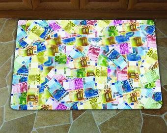 Money Kitchen Mat