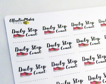 Daily Step Count Stickers