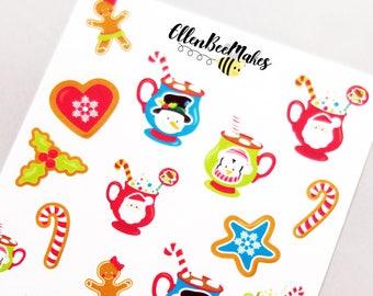 Sweet Hot Chocolate & Treats Stickers
