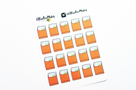 1618~~Happy Mail Envelopes Planner Stickers.