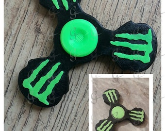 Monster fidget spinner