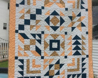 Beautiful Handmade twin size quilt