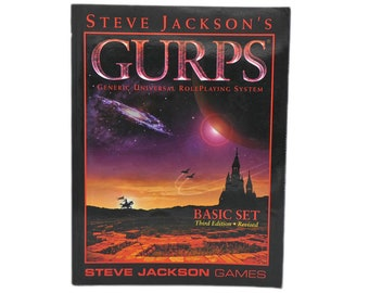 First Ed. GURPS Horror by Steve Jackson Role Playing Games 1987