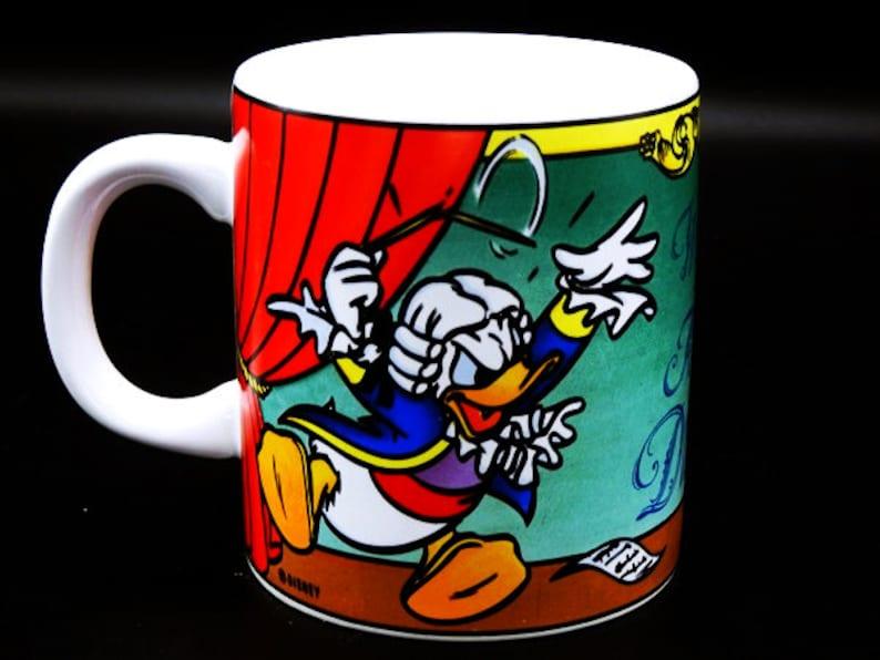 Mozart Cup Disney Donald Mug Duckzart Coffee Vintage Duck W2YD9EIH