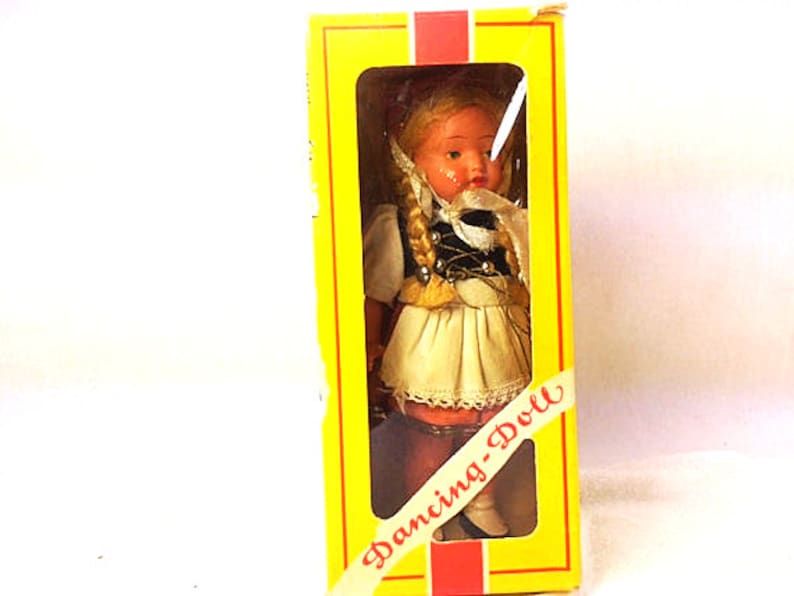 Vintage Windup Dancing Doll Sweetheart 1960s image 3