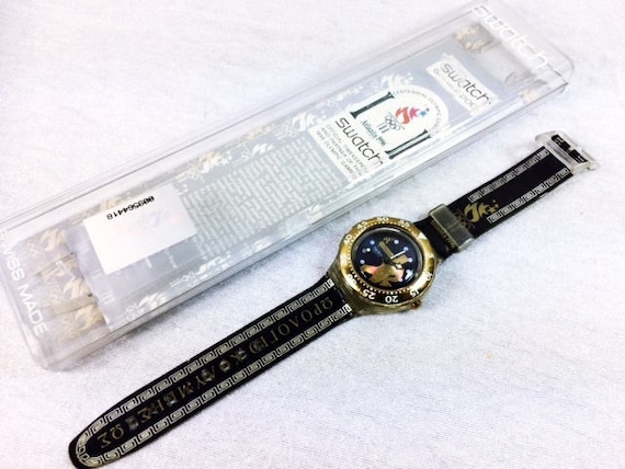 Olympic Swatch Watch - 1996 Olympmic Swatch - Atla