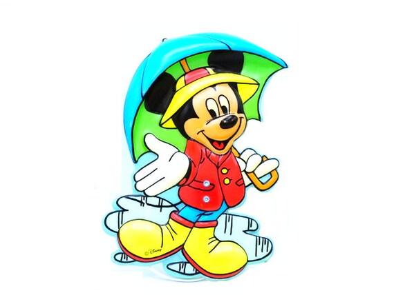 Walt Disney Mickey Mouse Lampe Disney Lampen Vintage Disney | Etsy